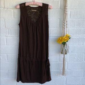 Prana V-neck Dress with Tie